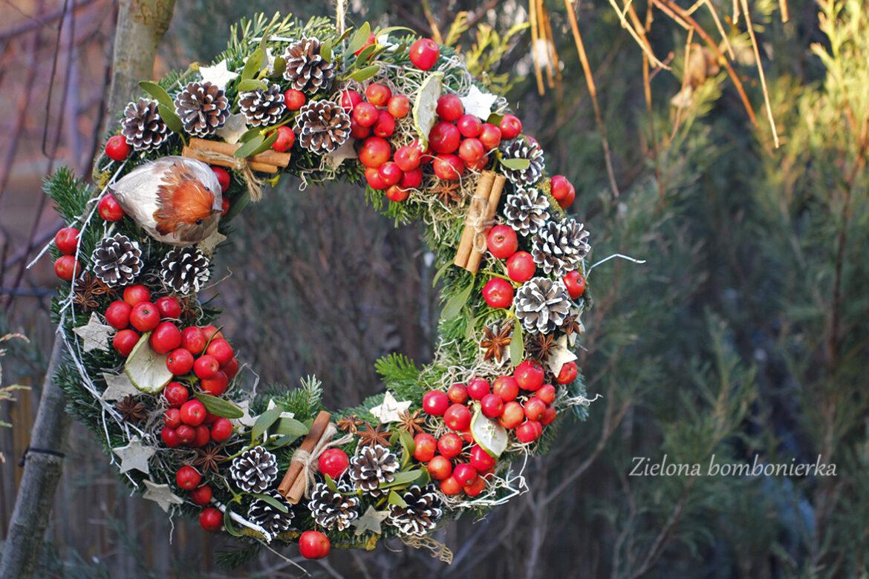 Wieniec bożonarodzeniowy Rajskie Jabłuszko