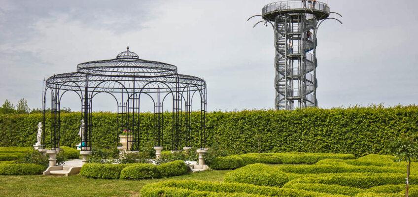 Ogrody Hortulus wDobrzycy, czyli jak niezgubić się wlabiryncie.