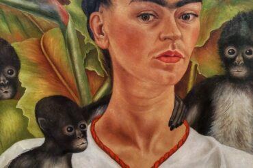 Ogród przyprawiony pigmentem wstylu Fridy Kahlo.