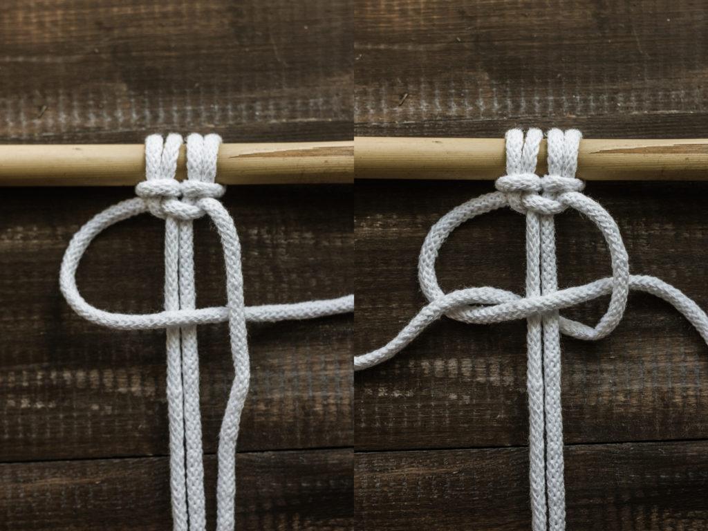 węzeł makrama