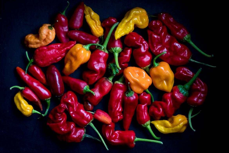 Piekło wgębie, czyli 7 ognistych odmian chili.