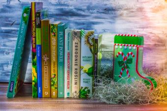 10 książek podchoinkę dla miłośników roślin iogrodników