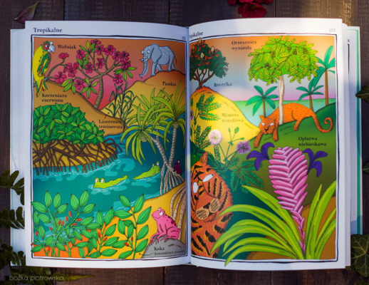 Elegantki, trucicielki iinne ziółka. Zwariowany atlas roślin